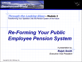 Reforming Pension Systems