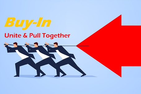 Unite and pull together